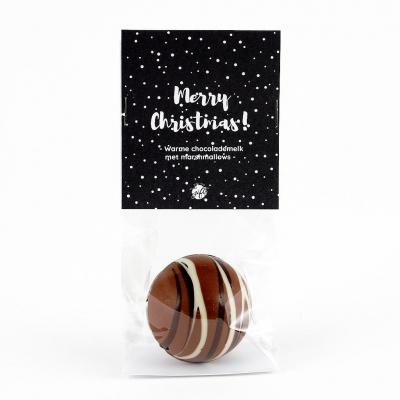 Chocolate bomb with marshmallows - Merry christmas! (6 st)